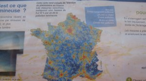pollution lumineuse carte de France